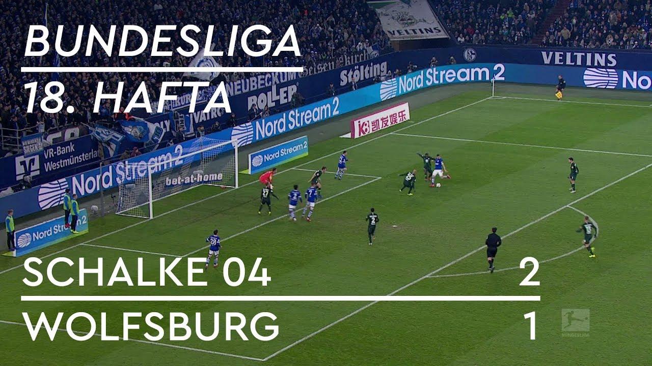 Schalke 04 - Wolfsburg (2-1) - Maç Özeti - Bundesliga 2018/19