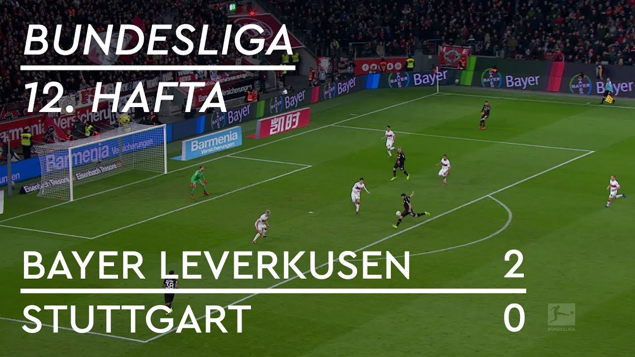 Bayer Leverkusen - Stuttgart (2-0) - Maç Özeti - Bundesliga 2018/19
