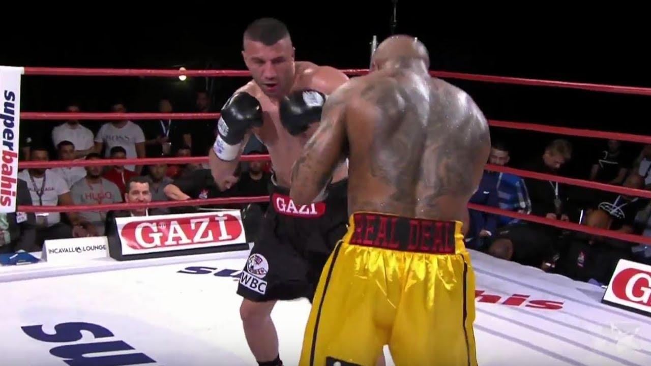 Avni Yıldırım vs. Ryan Ford - Full Fight - WBC Boks Gecesi