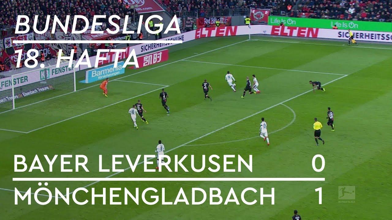 Bayer Leverkusen - Borussia Mönchengladbach (0-1) - Maç Özeti - Bundesliga 2018/19