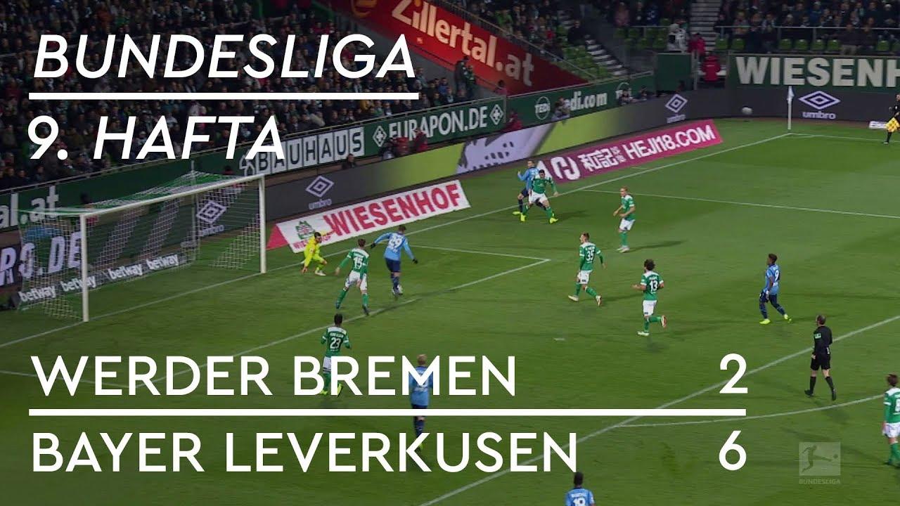 Werder Bremen - Bayer Leverkusen (2-6) - Maç Özeti - Bundesliga 2018/19