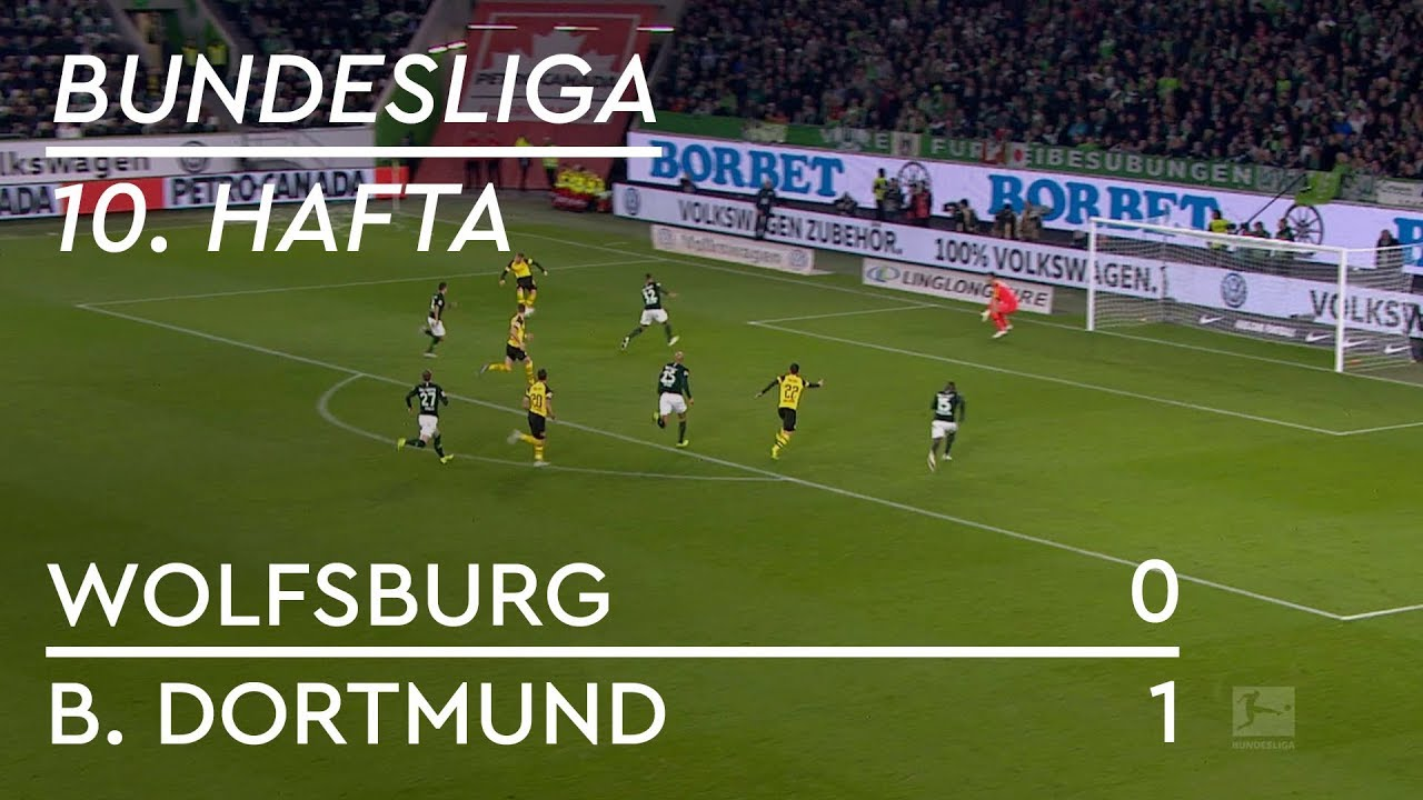 Wolfsburg - Borussia Dortmund (0-1) - Maç Özeti - Bundesliga 2018/19