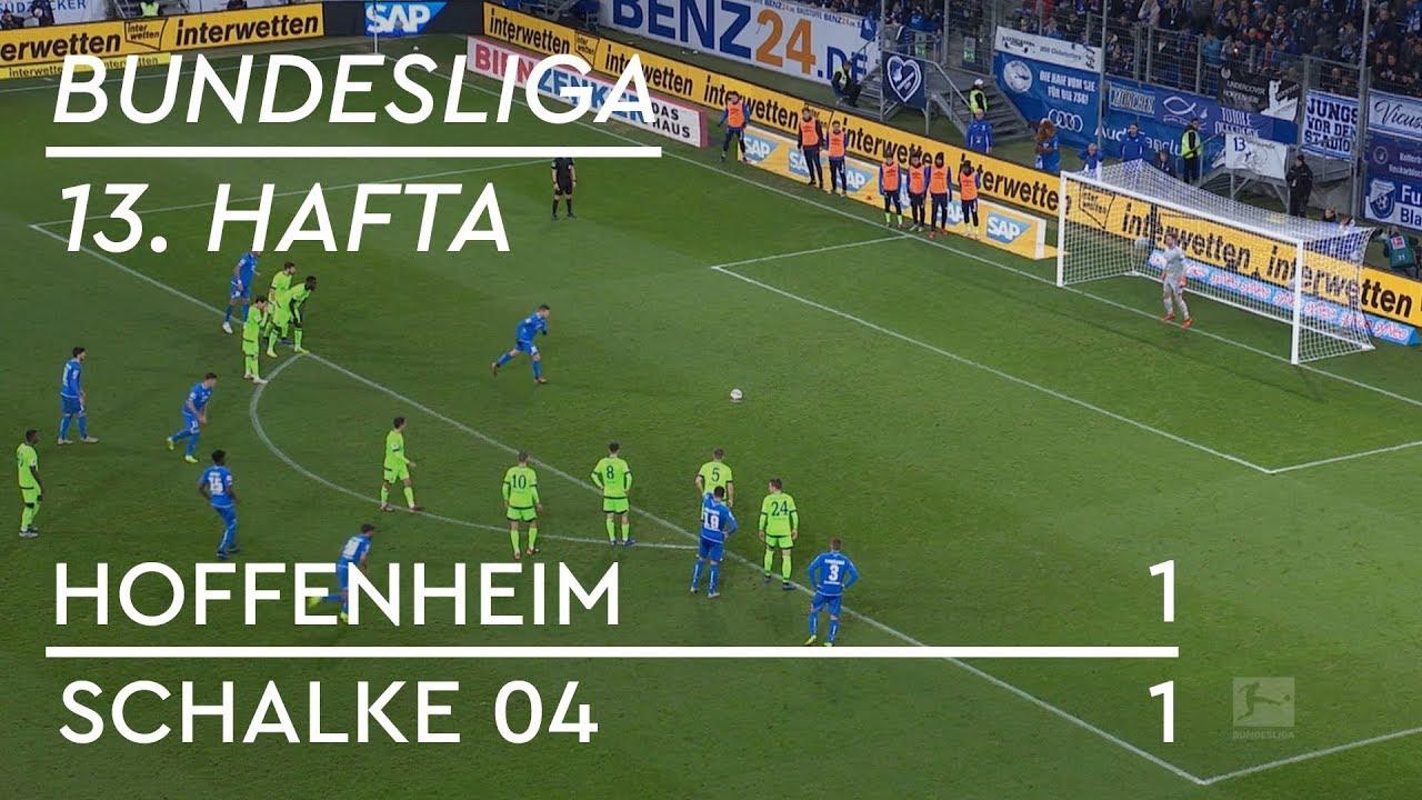 Hoffenheim - Schalke 04 (1-1) - Maç Özeti - Bundesliga 2018/19