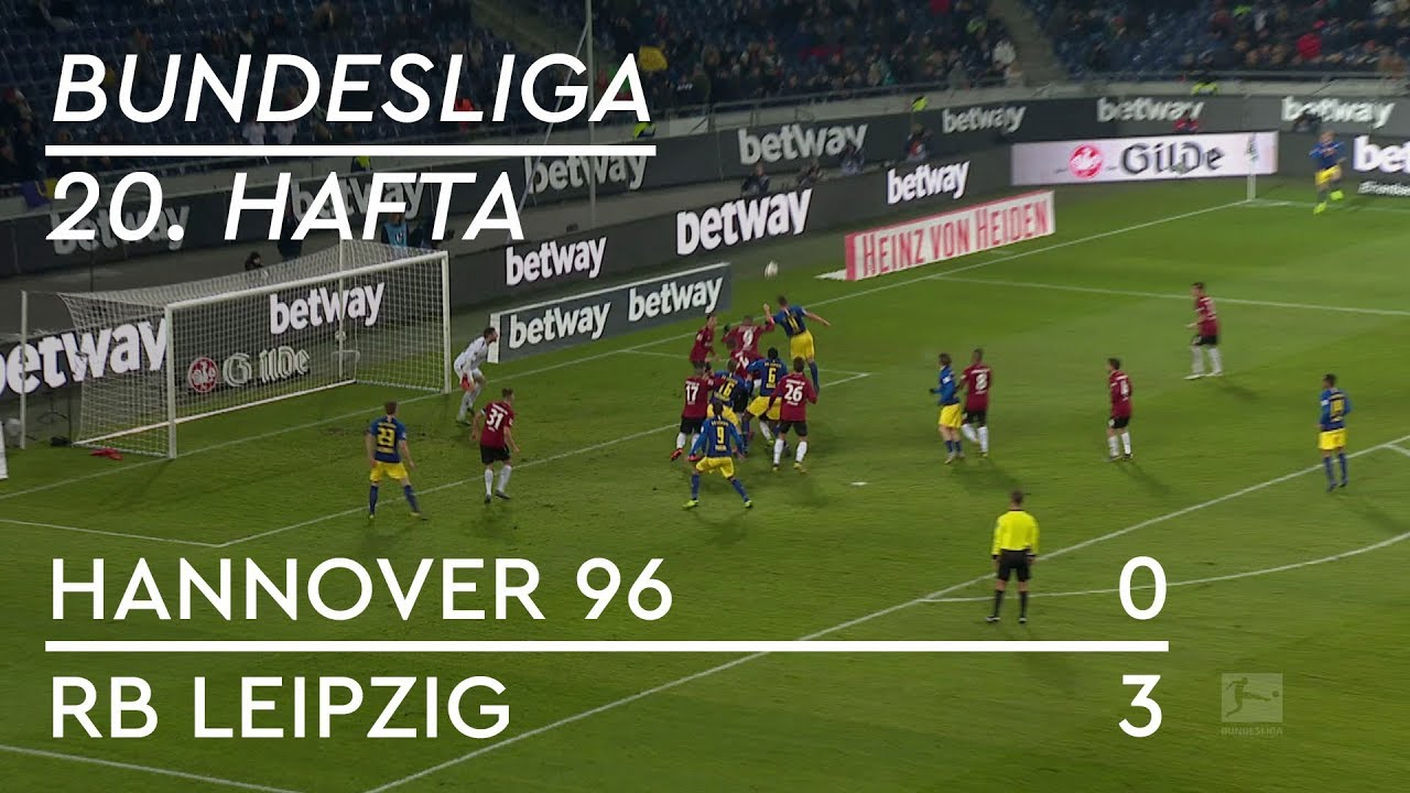 Hannover 96 - RB Leipzig (0-3) - Maç Özeti - Bundesliga 2018/19