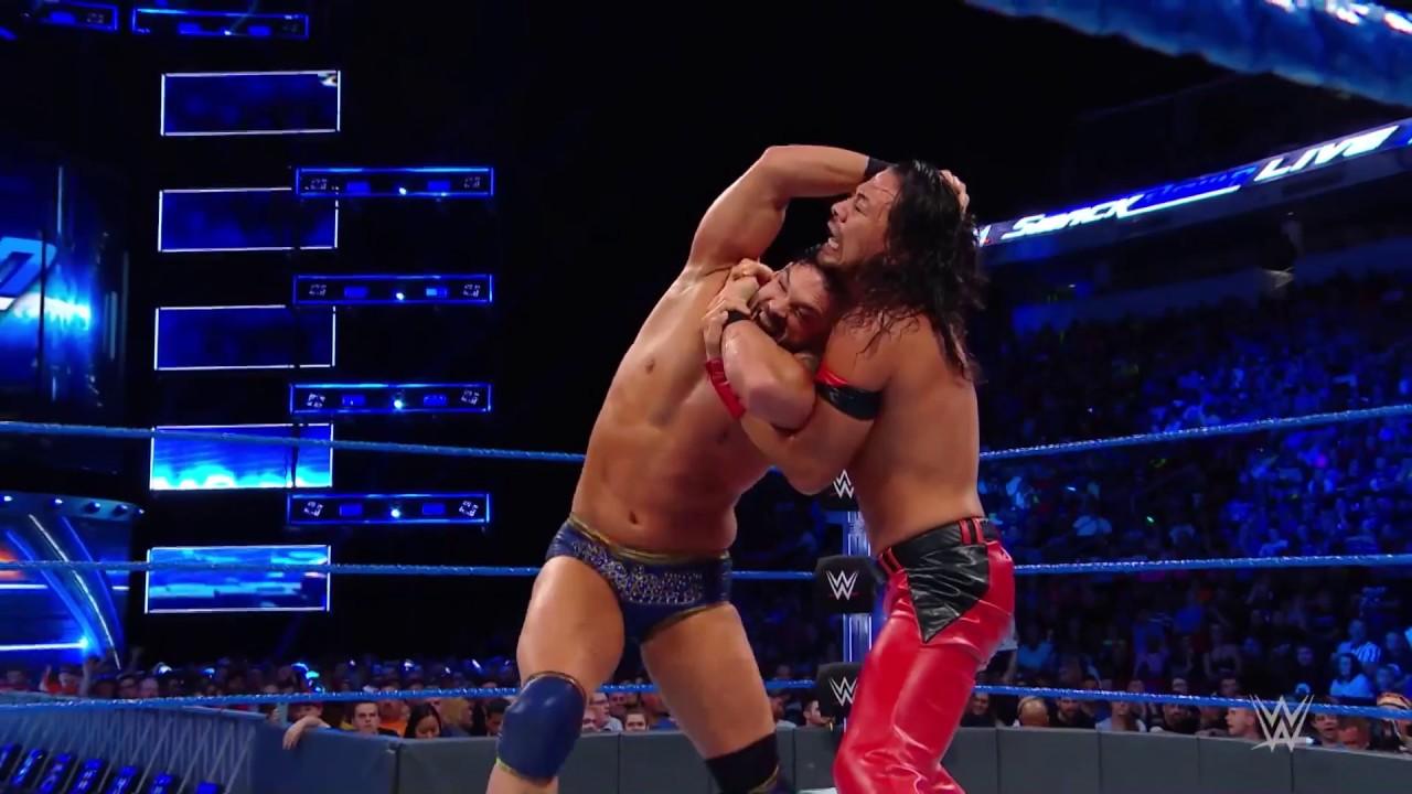 WWE SmackDown'da Nakamura Rüzgarı!