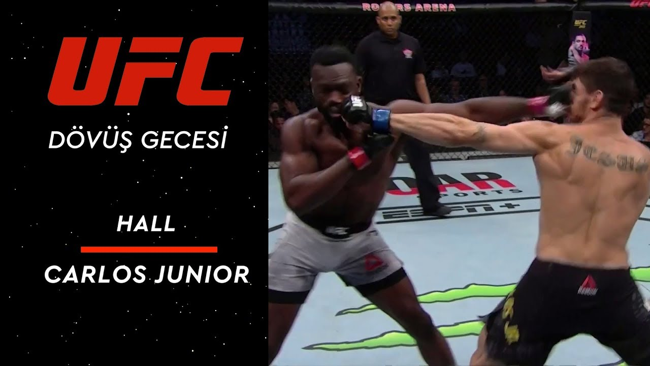 UFC Fight Night 158 | Hall vs Carlos Junior