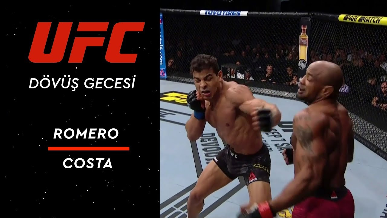 UFC 241 | Romero vs Costa