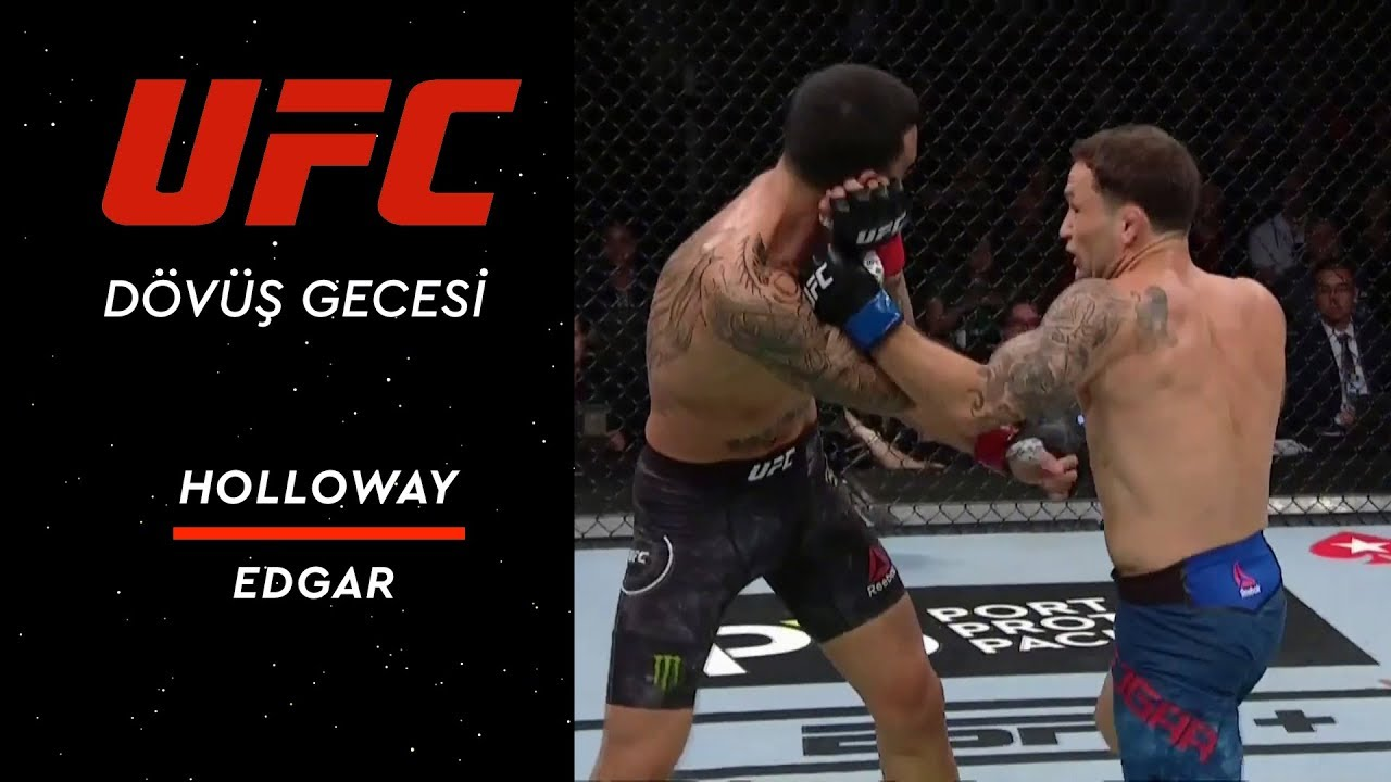 UFC 240 | Holloway vs Edgar