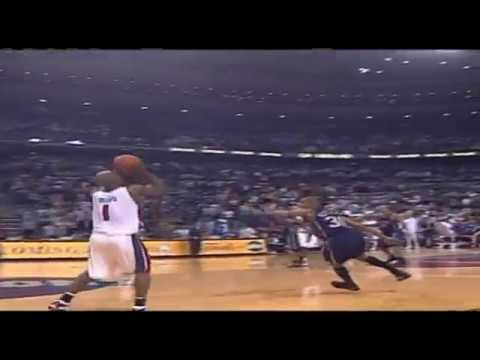 2004 NBA Playoffs - Billups'ın Maçı Uzatmaya Götüren İnanılmaz 3'lüğü!