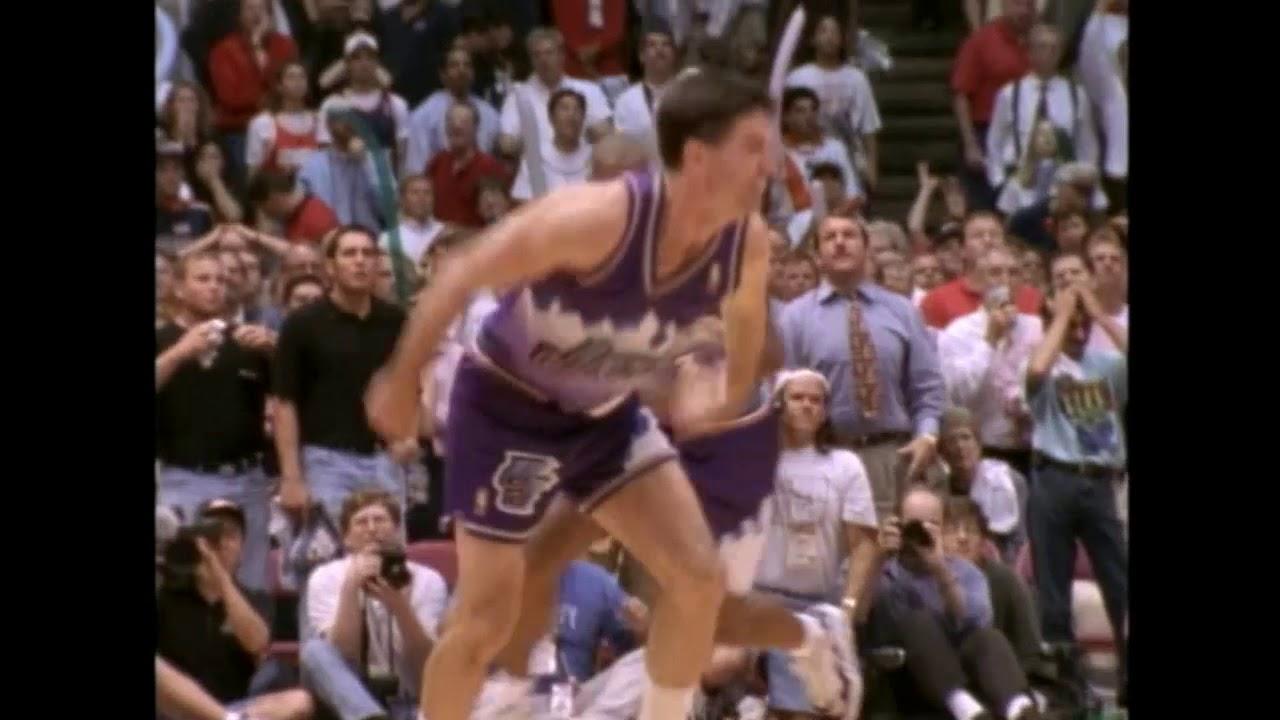 1997 #NBA Playoffs - Stockton'ın Utah'ı Finale Taşıyan 3'lüğü!