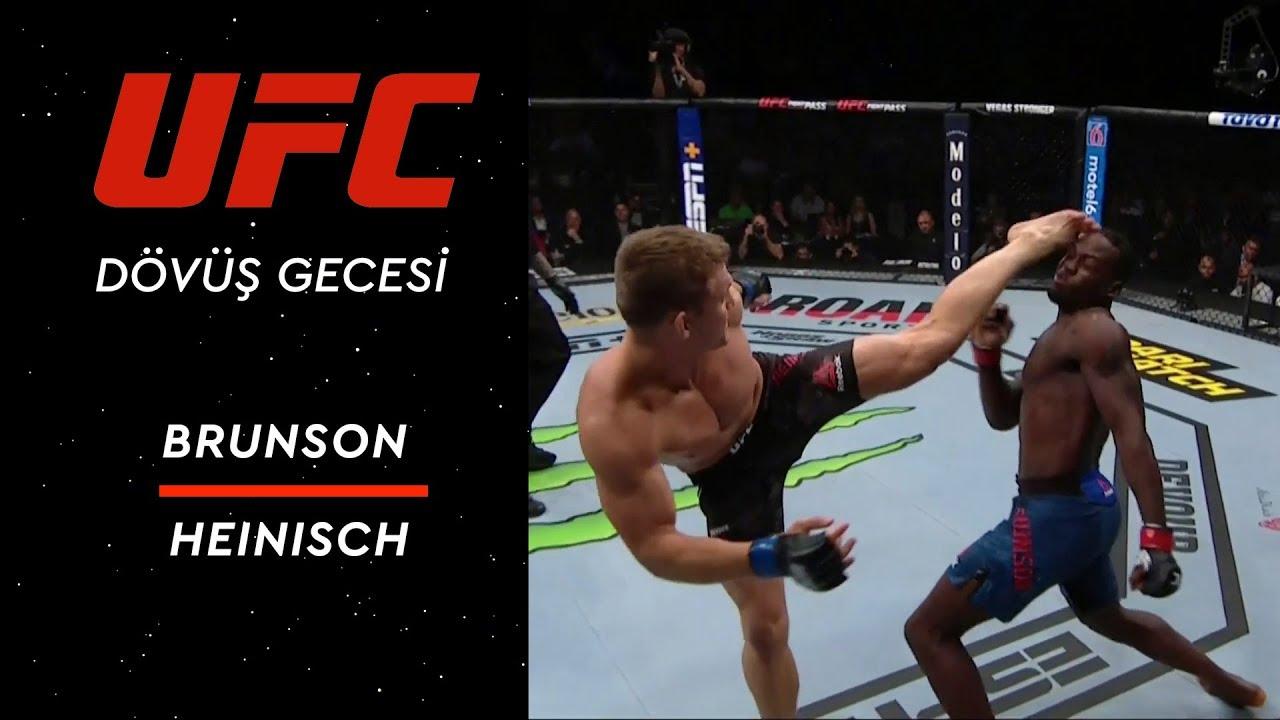 UFC 241 | Brunson vs Heinisch