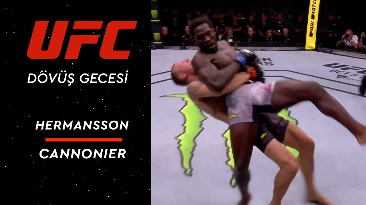 UFC Fight Night 160 | Hermansson vs Cannonier