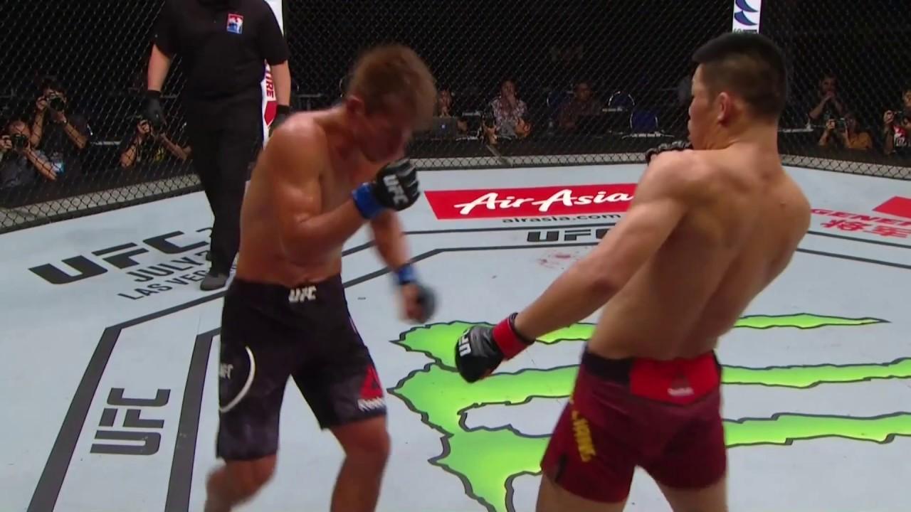 Jingliang Li - Daichi Abe | UFC Dövüş Gecesi Singapur
