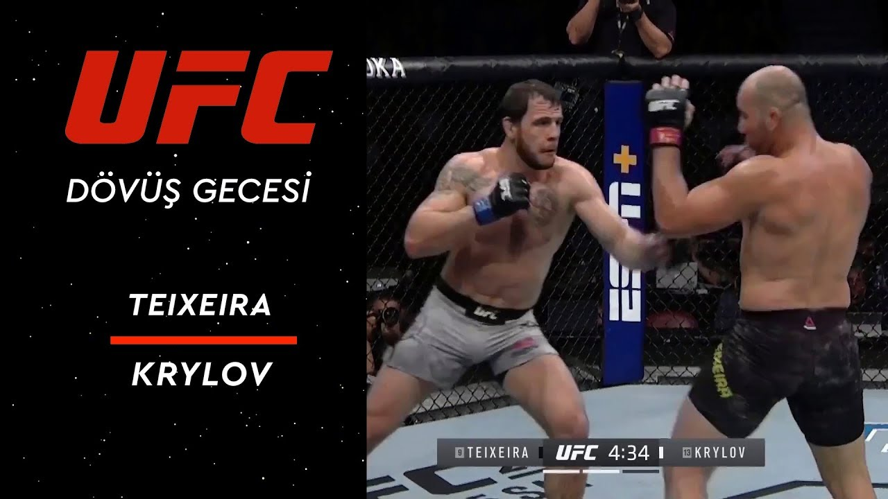 UFC Fight Night 158 | Teixeira vs Krylov
