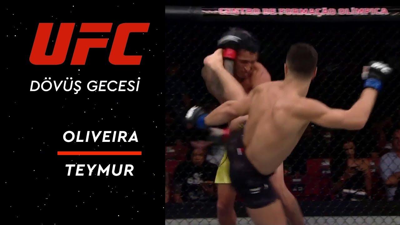 UFC Dövüş Gecesi 144 | Oliveira vs Teymur