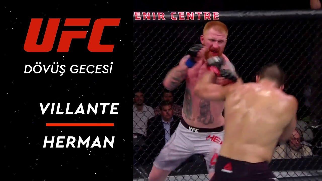 UFC Dövüş Gecesi | Villante vs Herman