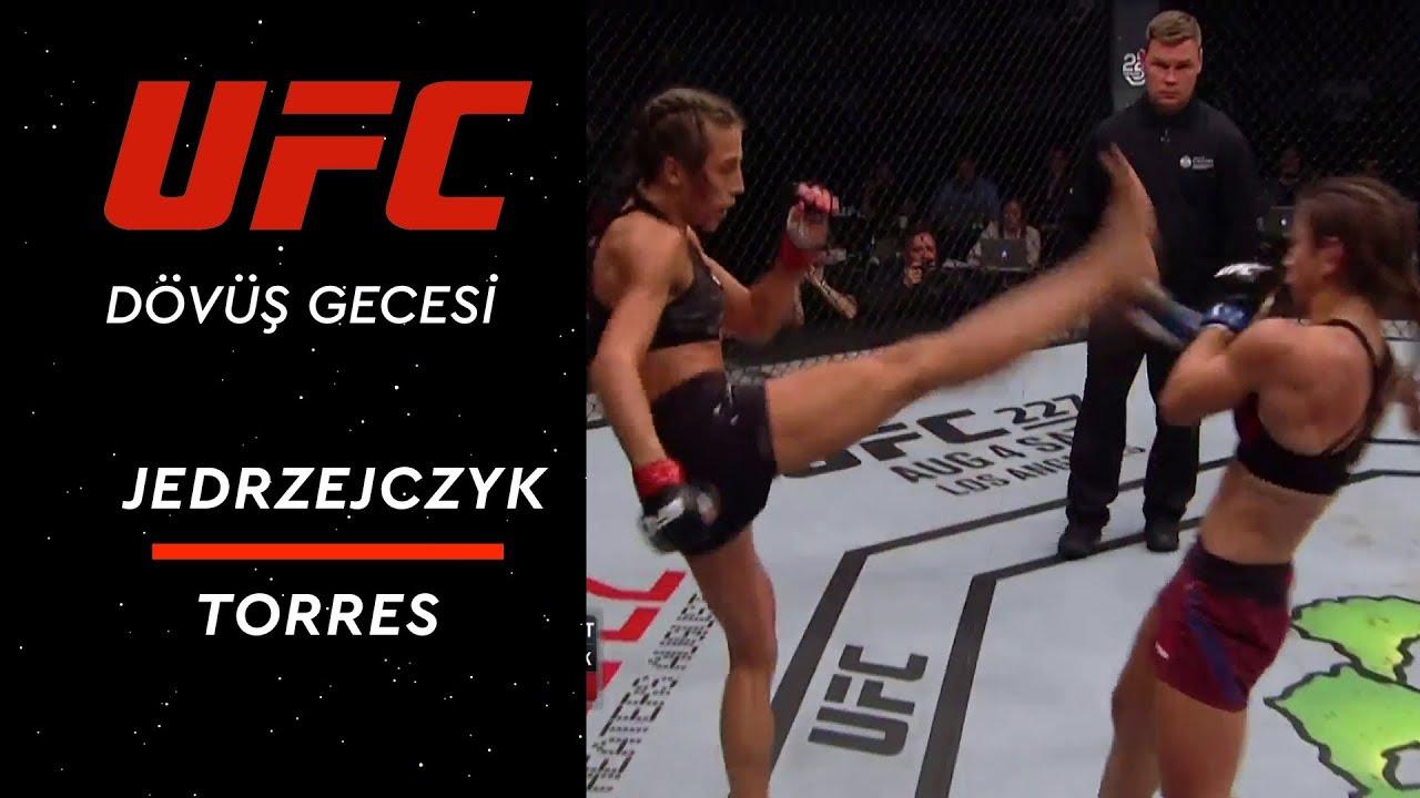 UFC Dövüş Gecesi Kanada - Jedrzejczyk vs Torres