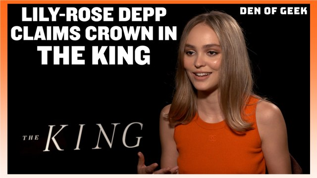 The King (2019) - Lily Rose Depp Interview