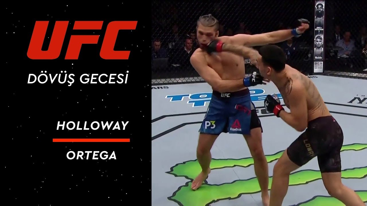UFC  231 | Holloway vs Ortega