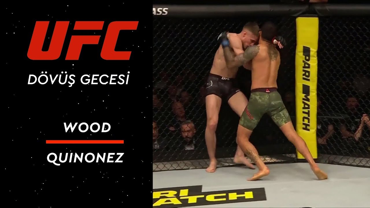 UFC Fight Night 147 | Wood vs Quinonez