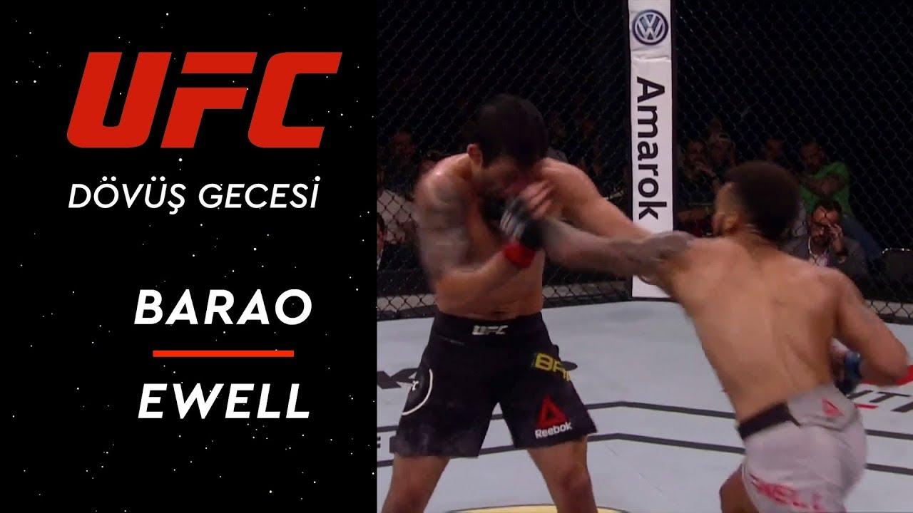 UFC Dövüş Gecesi | Barao - Ewell