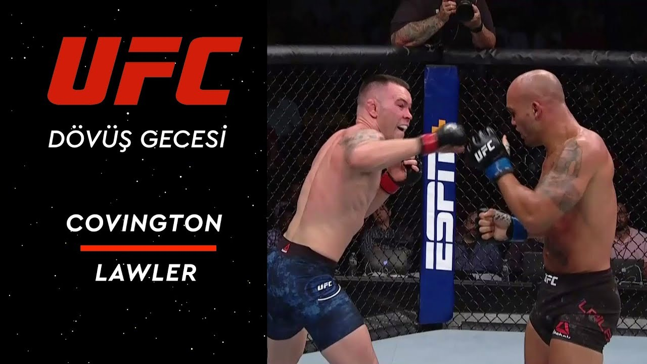 UFC on ESPN 5 | Covington vs Lawler