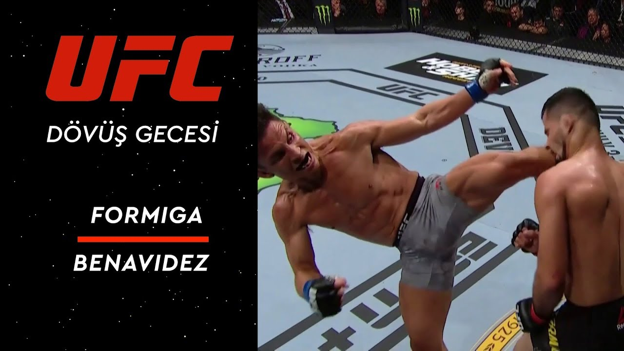 UFC on ESPN 3 | Formiga vs Benavidez