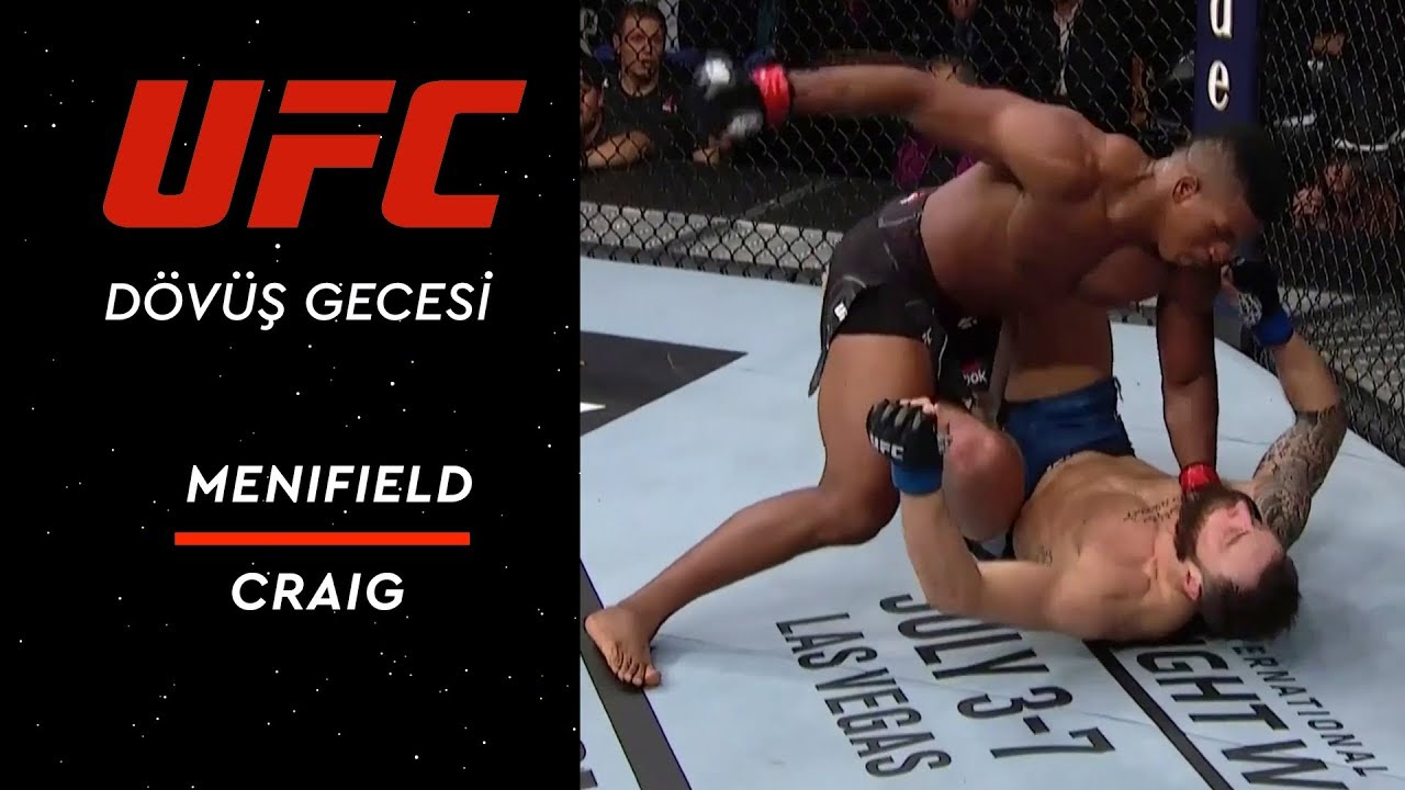 UFC on ESPN 3 | Menifield vs Craig