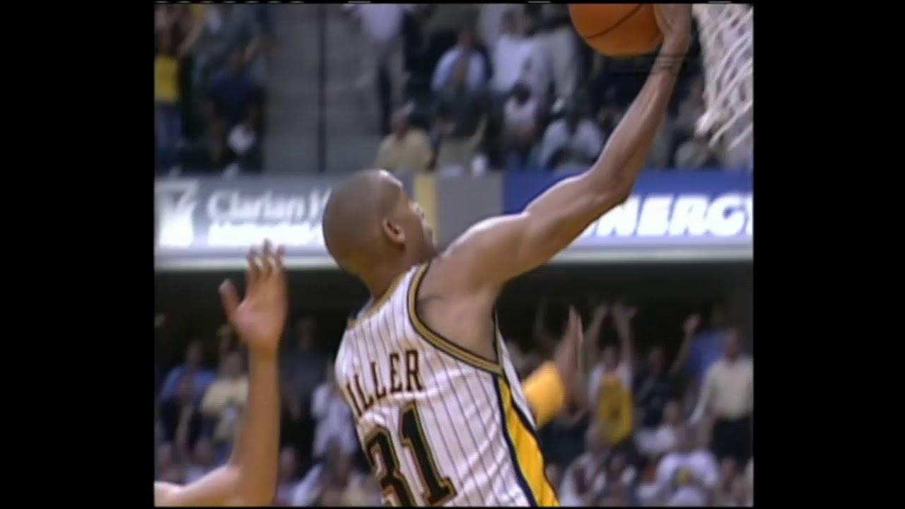 2004 NBA Playoffs - Tayshaun Prince'den Miller'a Unutulmaz Blok!