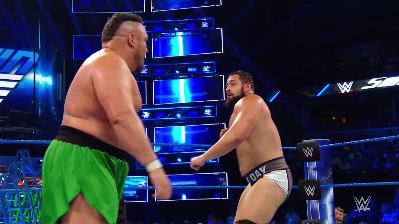 SmackDown'da Sert Mücadele!