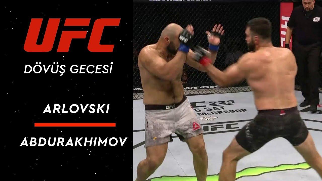 UFC Dövüş Gecesi Moskova  | Arlovski - Abdurakhimov