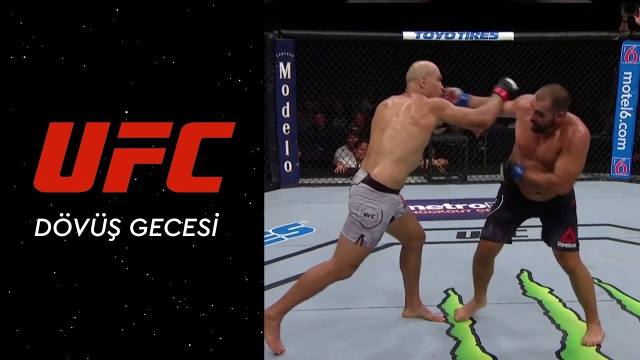UFC Dövüş Gecesi | Junior Dos Santos vs Blagoy Ivanov