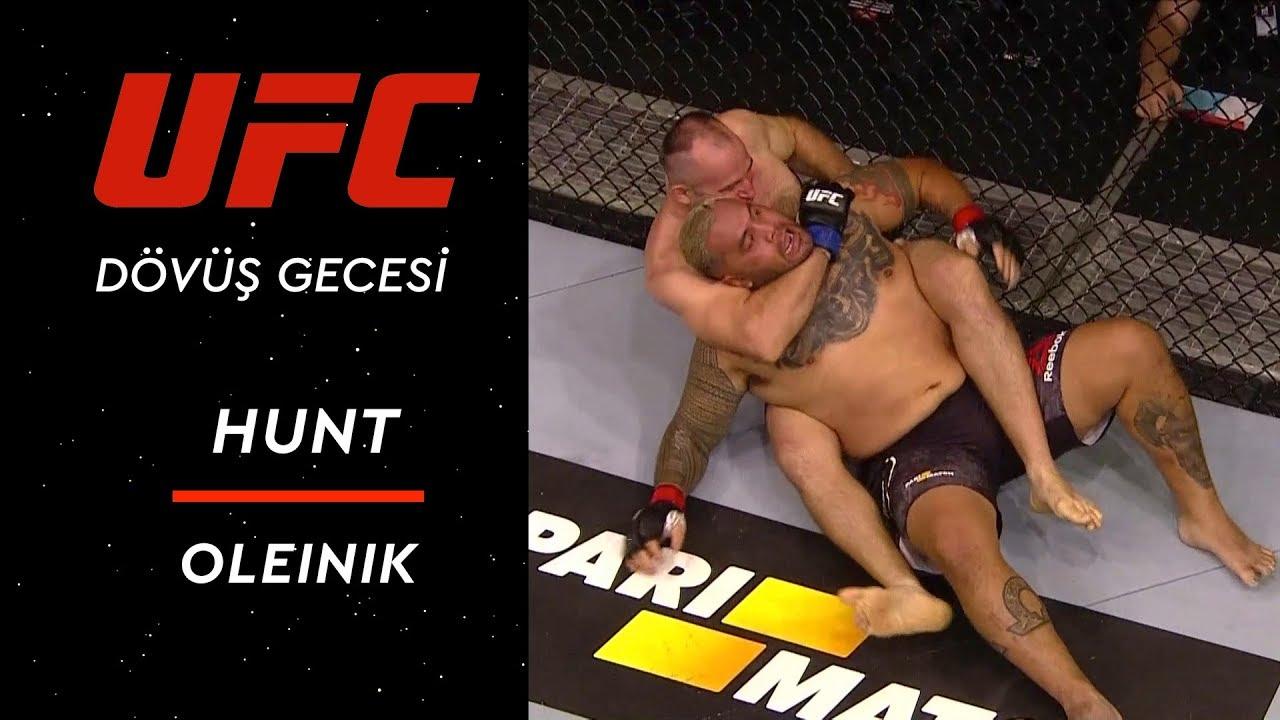 UFC Dövüş Gecesi Moskova | Hunt - Oleinik