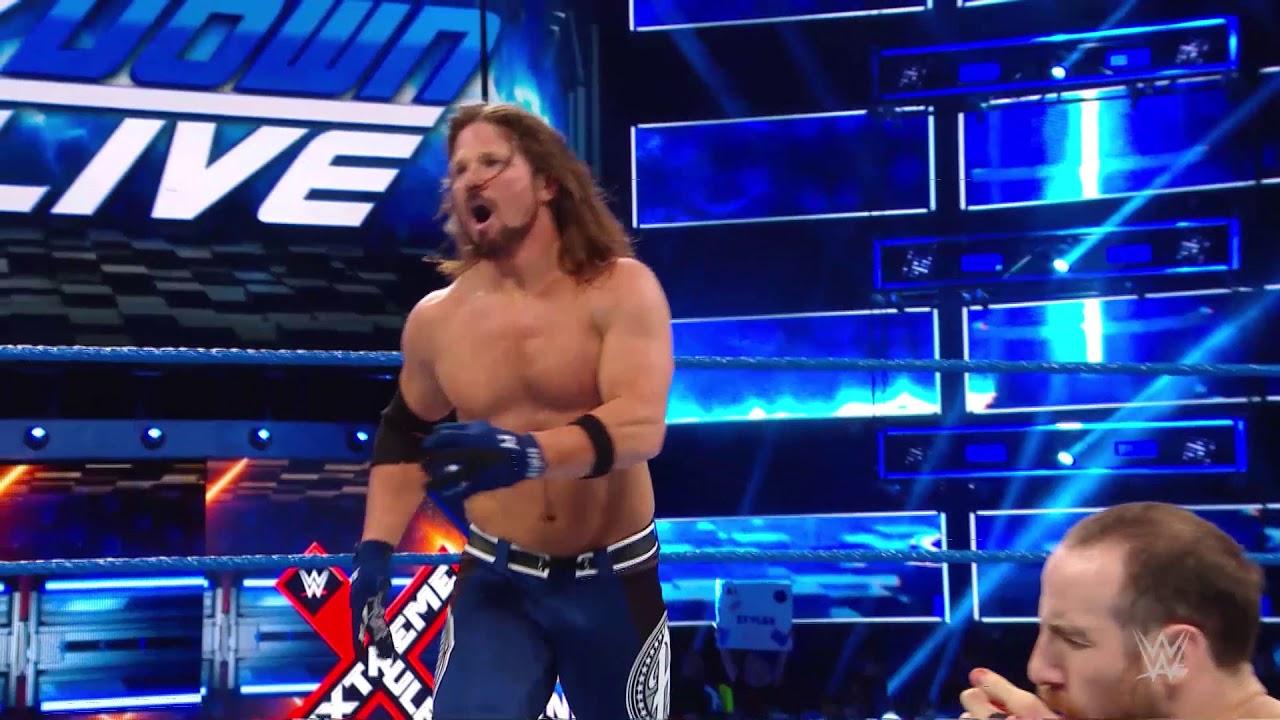 AJ Styles'ın Muhteşem Uçuşu!