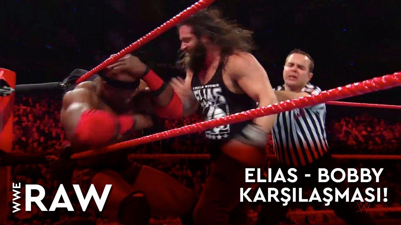 WWE Raw | Elias - Bobby Karşılaşması! (Türkçe Anlatım)