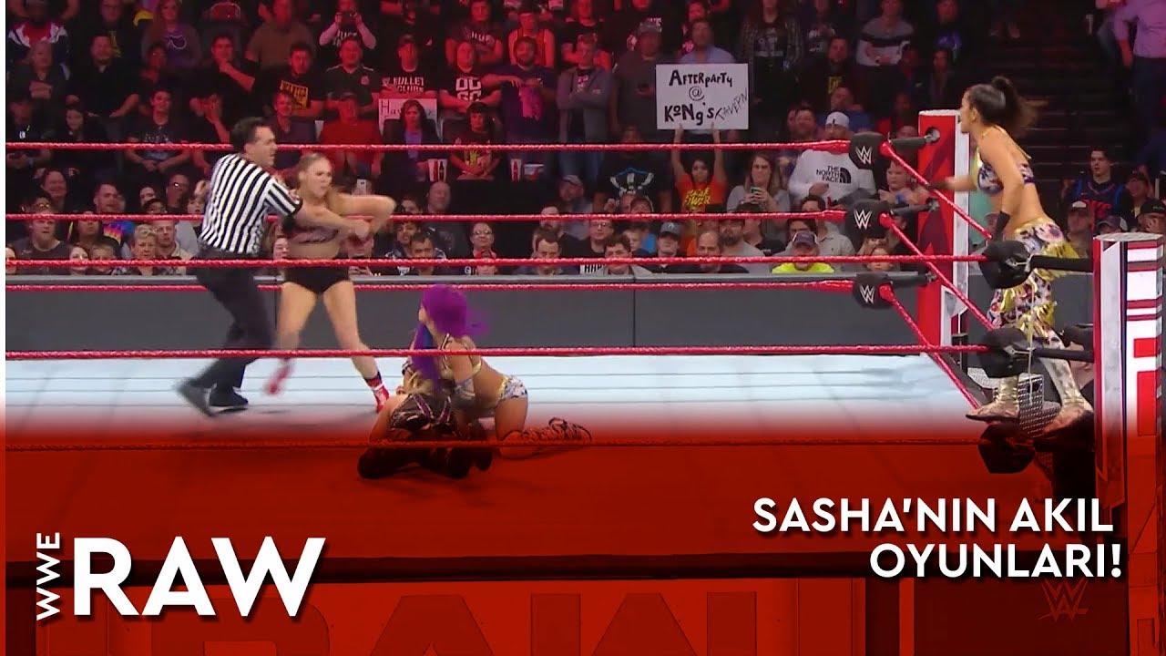 WWE Raw | Sasha'nın Akıl Oyunları! (Türkçe Anlatım)