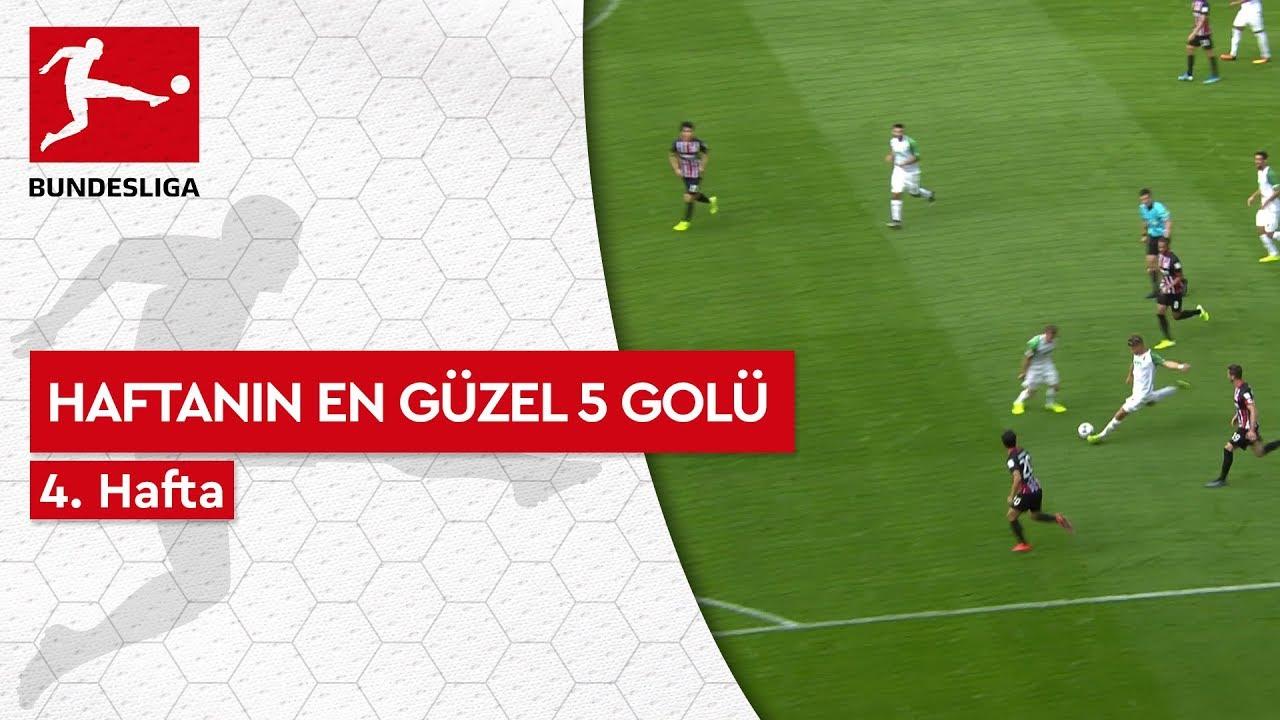 Bundesliga'da 4. Haftanın En Güzel 5 Golü (2019/20)