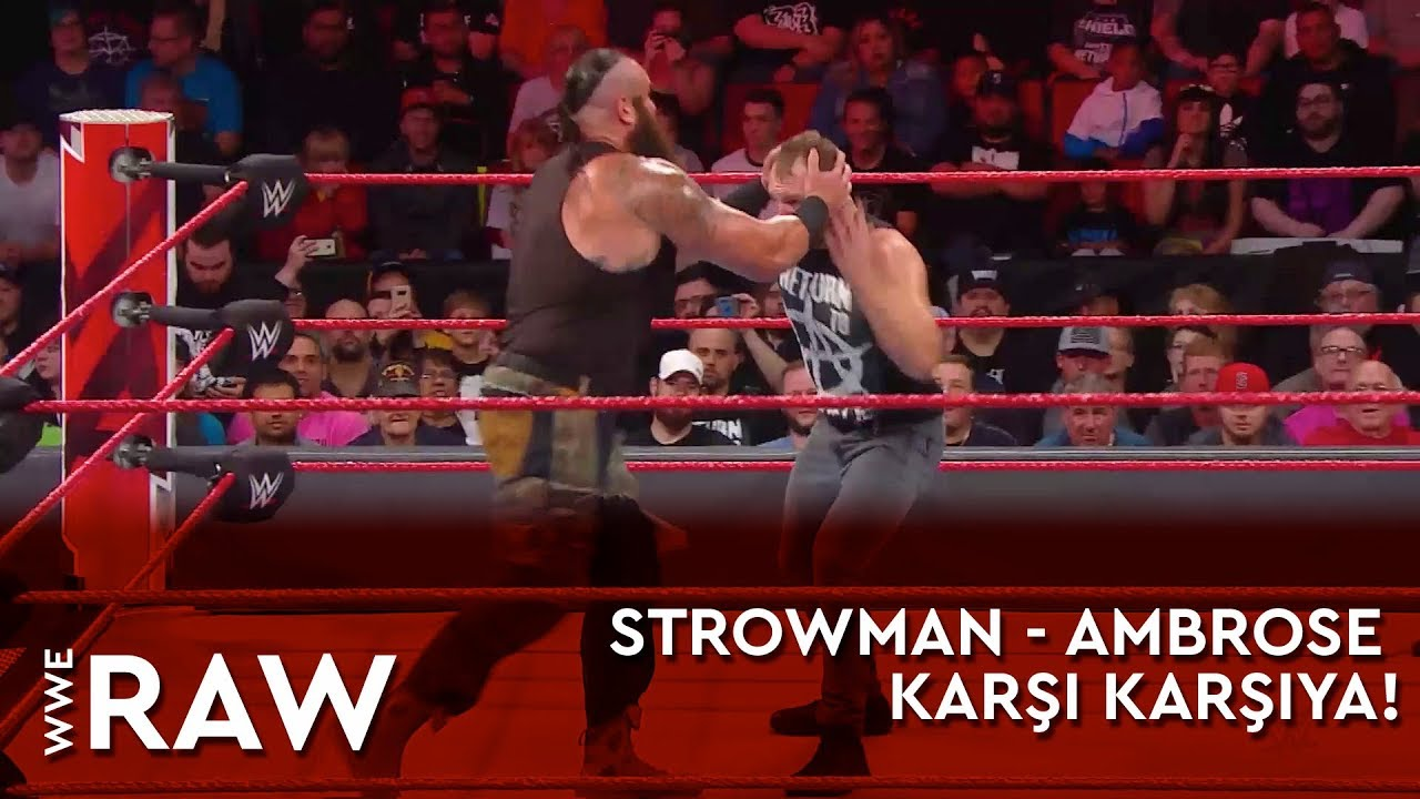 Strowman - Ambrose Karşı Karşıya!
