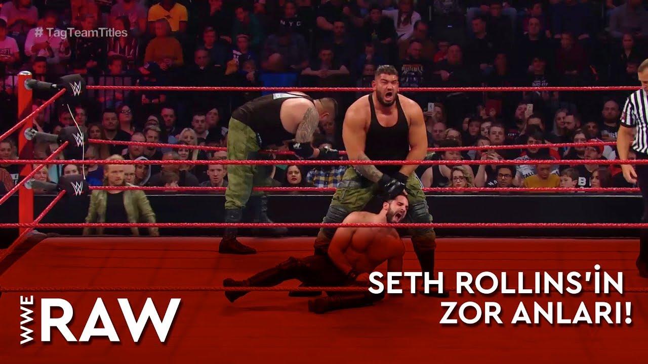WWE Raw | Seth Rollins'in Zor Anları! (Türkçe Anlatım)
