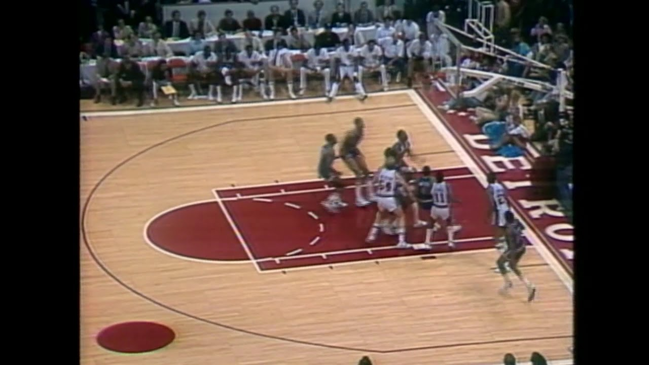 1984 NBA Playoffs - Bernard King vs Isiah Thomas