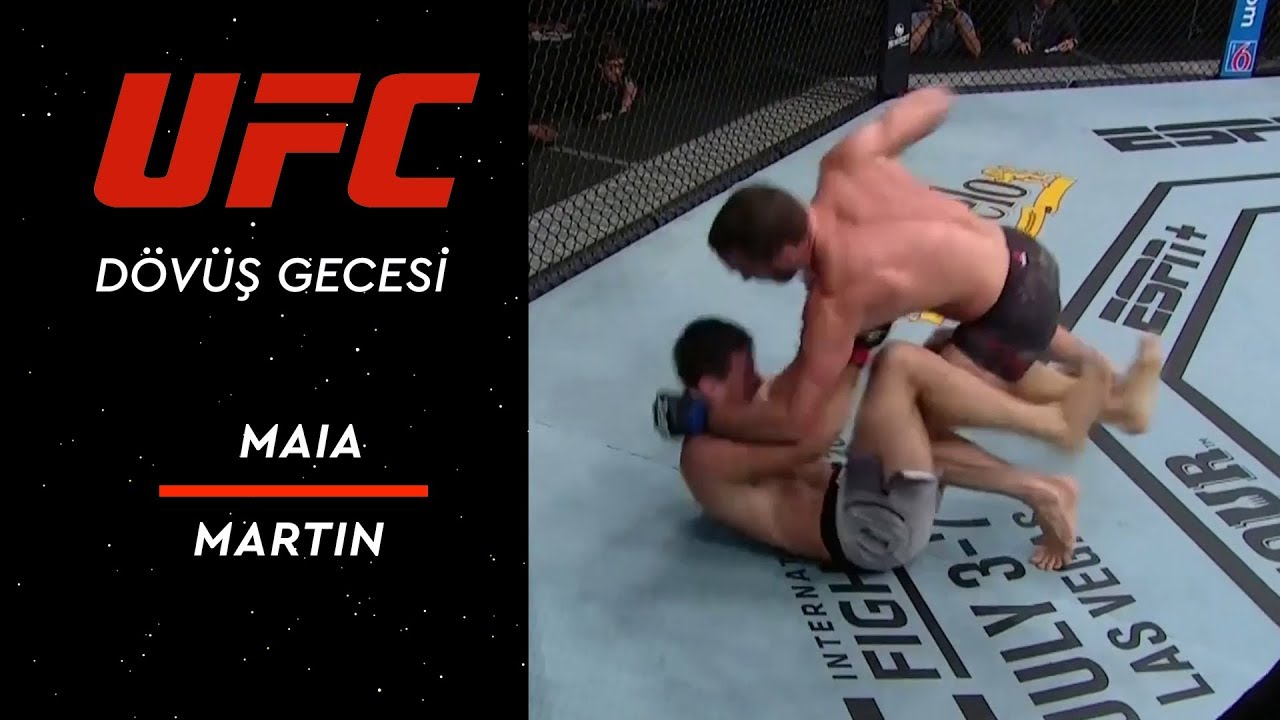 UFC on ESPN 3 | Maia vs Martin