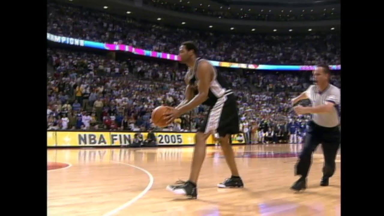 2005 NBA Finals - Horry'den Galibiyeti Getiren 3'lük!