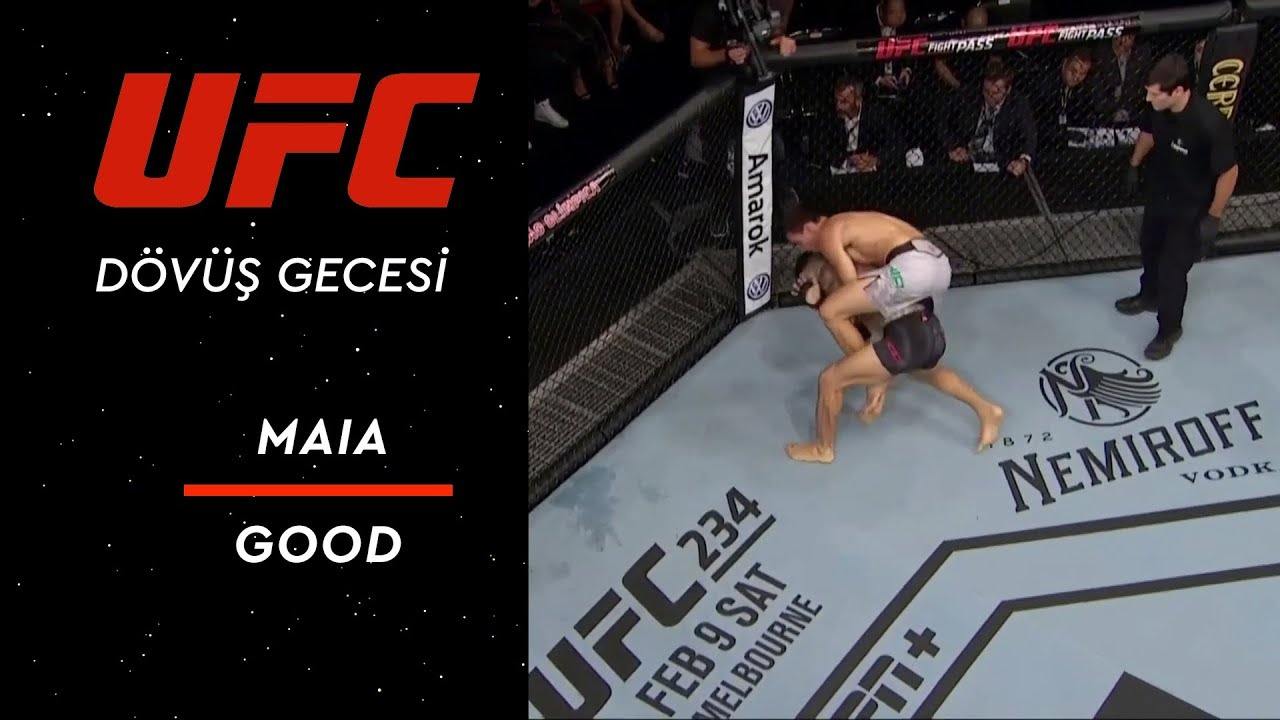 UFC Dövüş Gecesi 144 | Maia vs Good