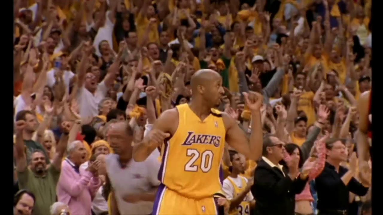 2000 NBA Playoffs - Kobe&Shaq Alley-Oop'u!