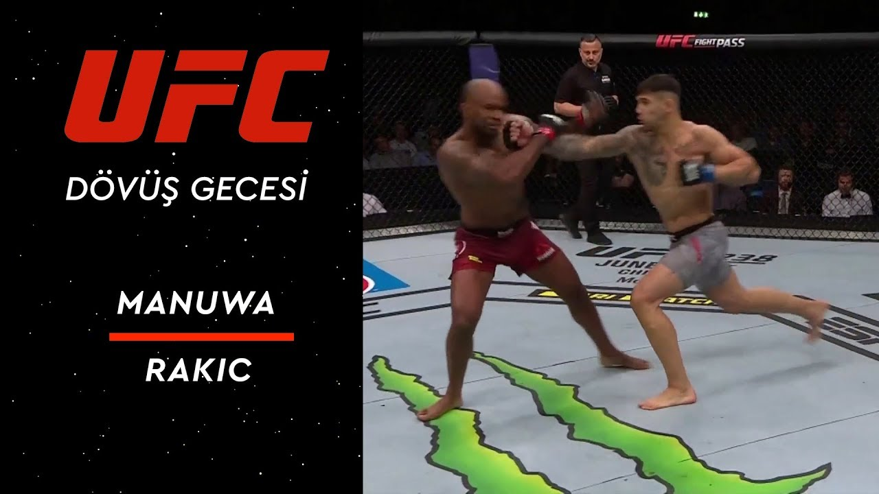 UFC Fight Night 153 | Manuwa vs Rakic