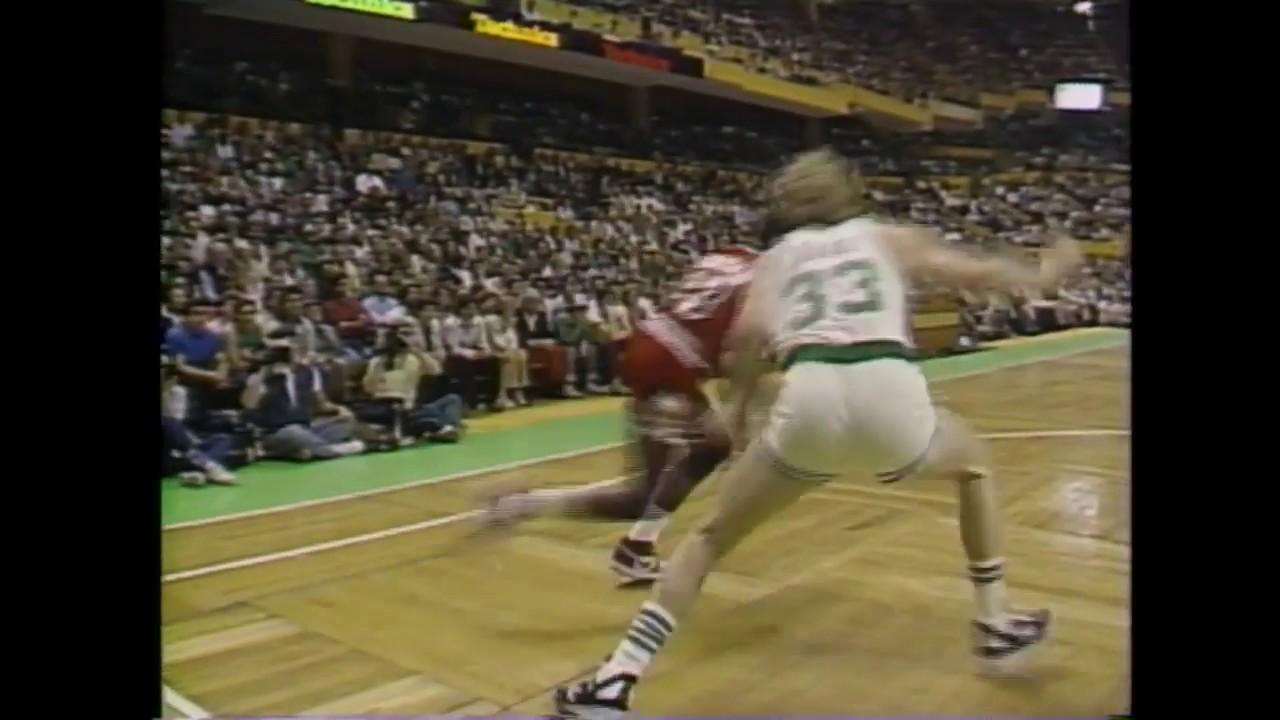 1986 NBA Playoffs - Jordan 63 Sayı Atarak Rekoru Eline Geçirdi!