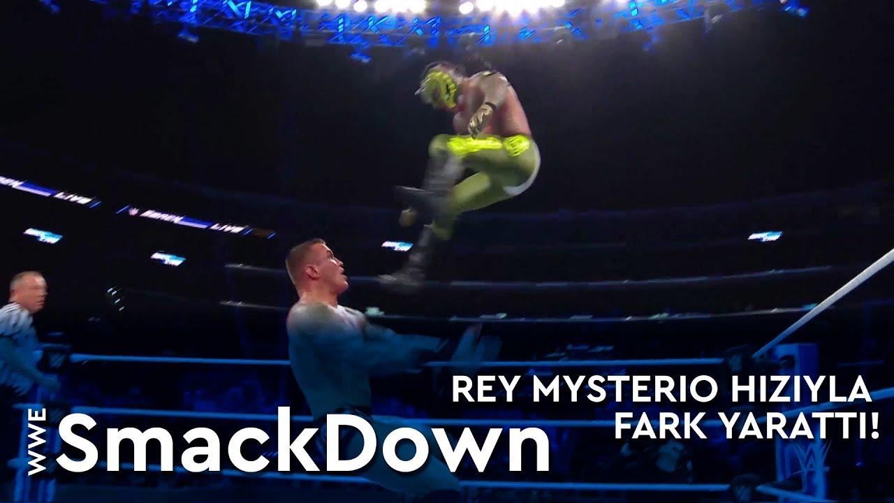 WWE SmackDown | Rey Mysterio Hızıyla Fark Yarattı! (Türkçe Anlatım)