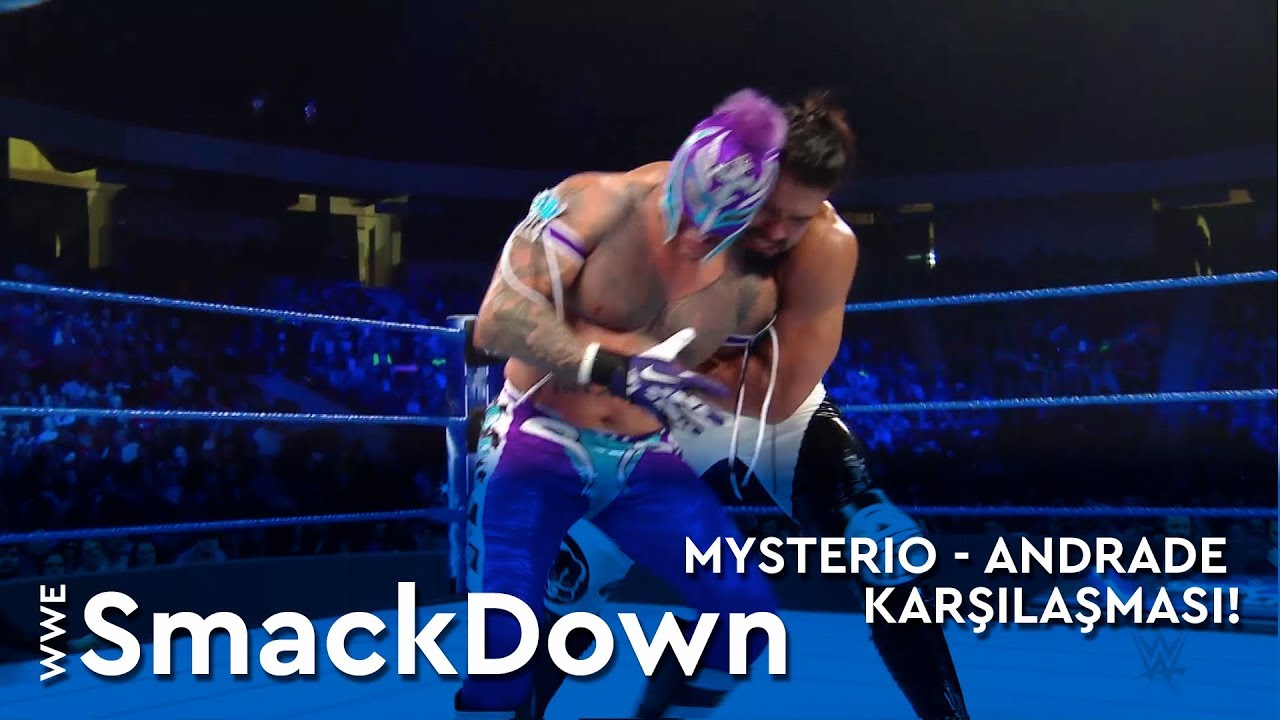 WWE SmackDown | Mysterio - Andrade Karşılaşması! (Türkçe Anlatım)