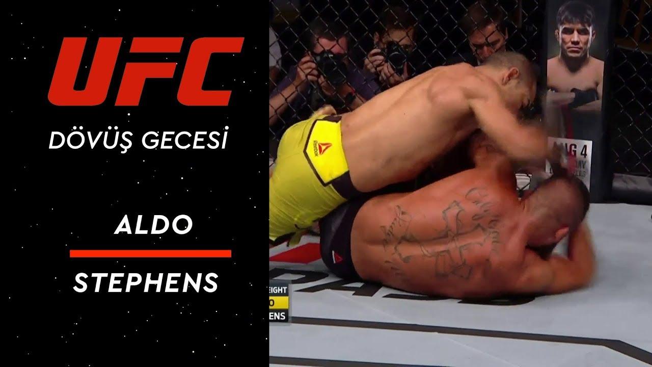 UFC Dövüş Gecesi Kanada - Aldo vs Stephens