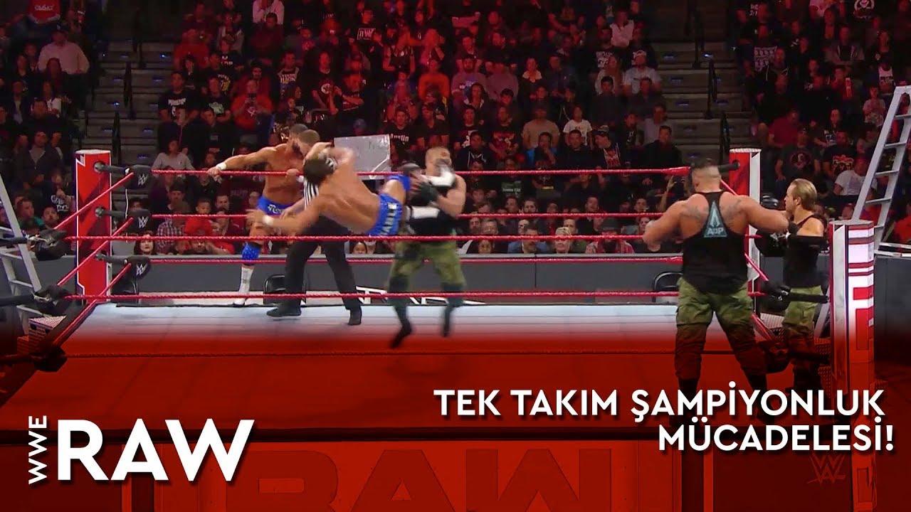 WWE Raw | Tek Takım Şampiyonluk Mücadelesi! (Türkçe Anlatım)